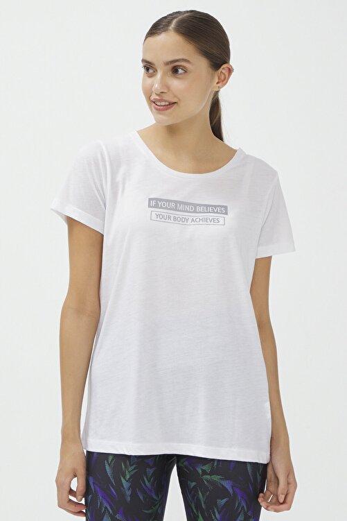 Penti Beyaz Reflected Tişört 2