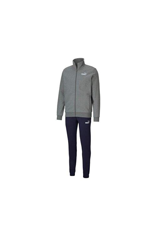 Puma Erkek Gri Clean Sweat Suit Eşofman Takım 583598-03 1