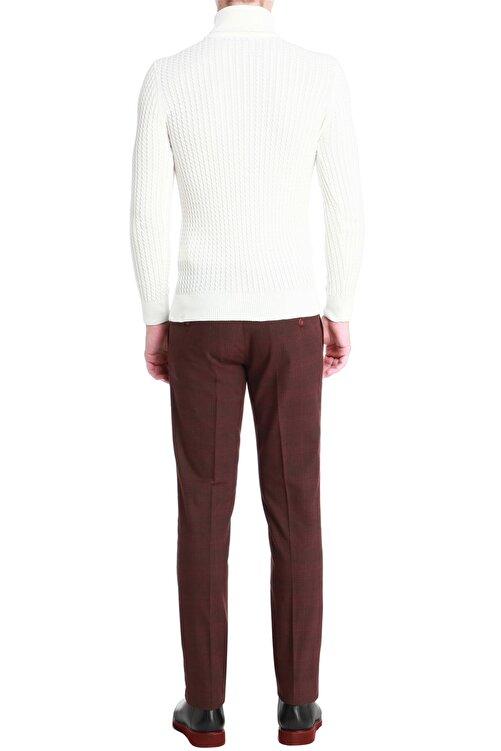 Efor P 1056 Slim Fit Bordo Spor Pantolon 2