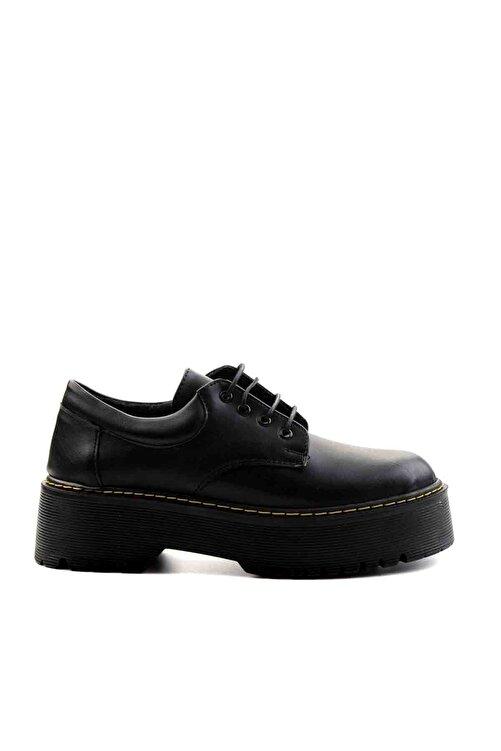 Bambi Siyah Kadın Casual Ayakkabı M08360001 2