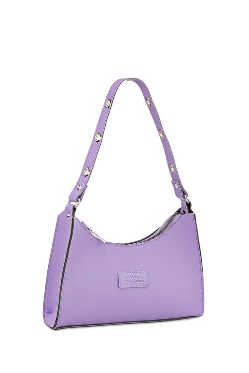 Housebags Kadın Lila  Baguette Çanta 195 1