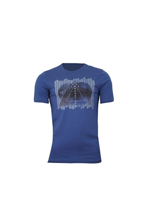 Phazz Brand T-shirt 94423-indigo 1