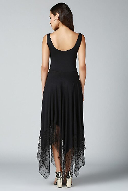 Quincey Eteği Asimetrik Elbise 2