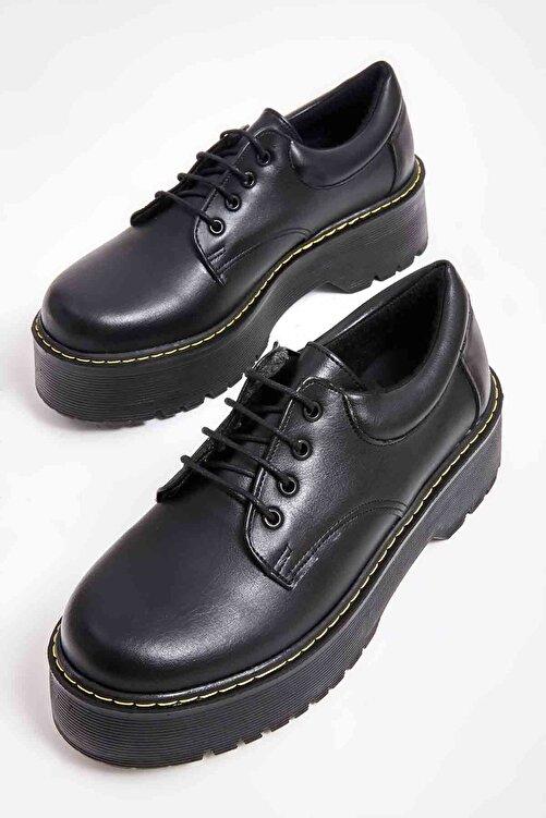Bambi Siyah Kadın Casual Ayakkabı M08360001 1