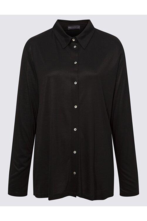 Marks & Spencer Uzun Kollu Jarse Bluz 1