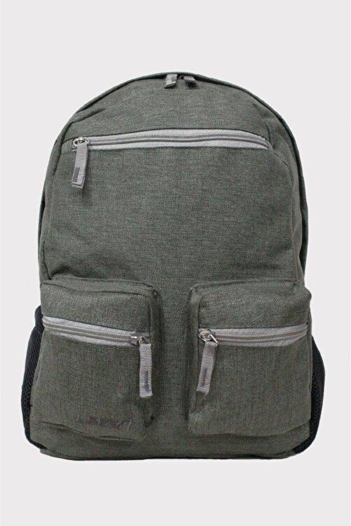 LEGAN Unisex Sırt Çantası Bez Şık Dokulu Çanta Çok Renkli Açık Yeşil 8593 1