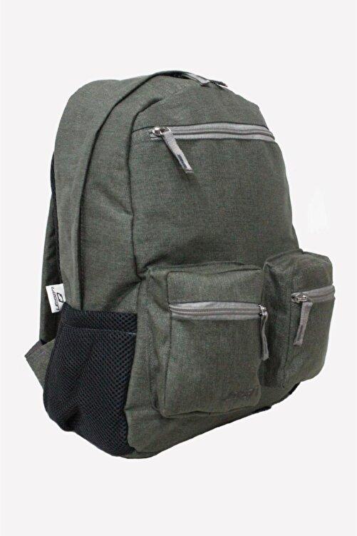 LEGAN Unisex Sırt Çantası Bez Şık Dokulu Çanta Çok Renkli Açık Yeşil 8593 2