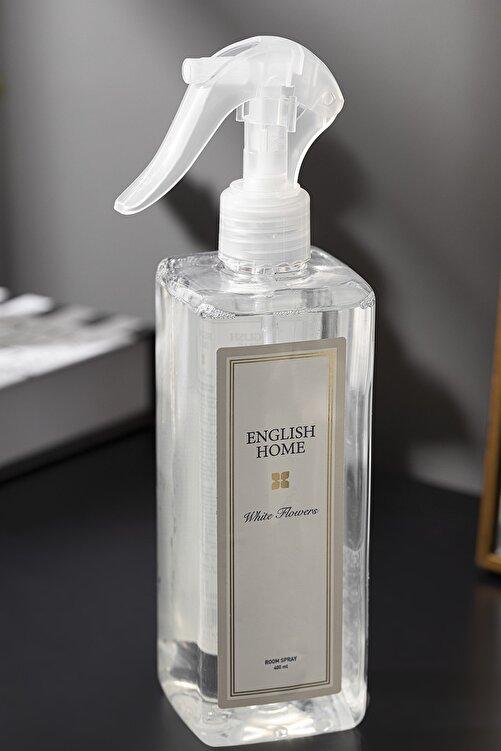 English Home Beyaz Çiçekler Oda Spreyi 400 ml Bej 2