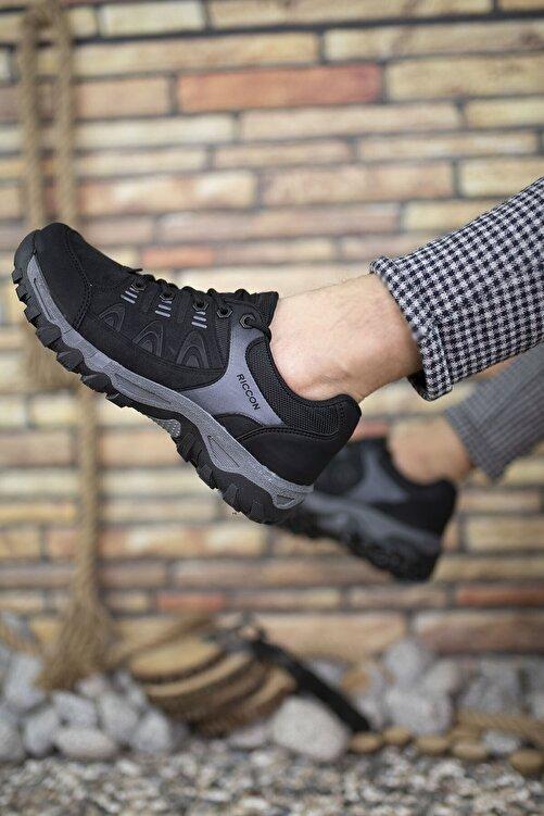 Riccon Siyah Erkek Trekking Ayakkabı 00127053 2