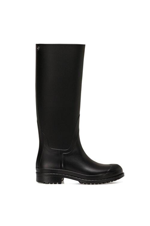 Nine West ANABEL Siyah Kadın Yağmur Çizmesi 100664053 1