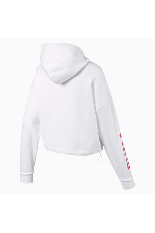 Puma Kadın Beyaz Spor Sweatshirt 2