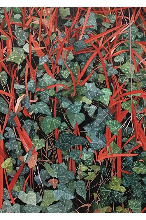 Sami Gedik Kırmızı Çizgiler 2, 34x24, Kağıt Üzerine Suluboya 1