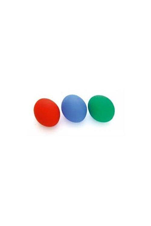 Mefkure Yayınları Kırmızı Renk Silikon Stres Topu El Egzersiz Topu Fizik Tedavi Topu 1