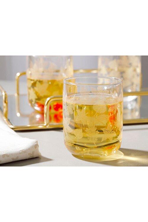 English Home Allure Cam 3'lü Meşrubat Bardağı 270 Ml Açık Altın 2