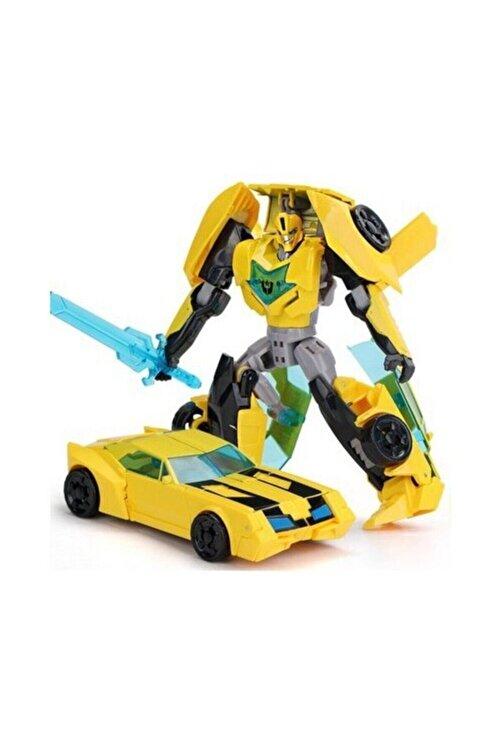 Gepettoys Kdd Transformers Tarzında Optimus Prime Bumblebee Grimlock Dönüşen Robot Araba 1