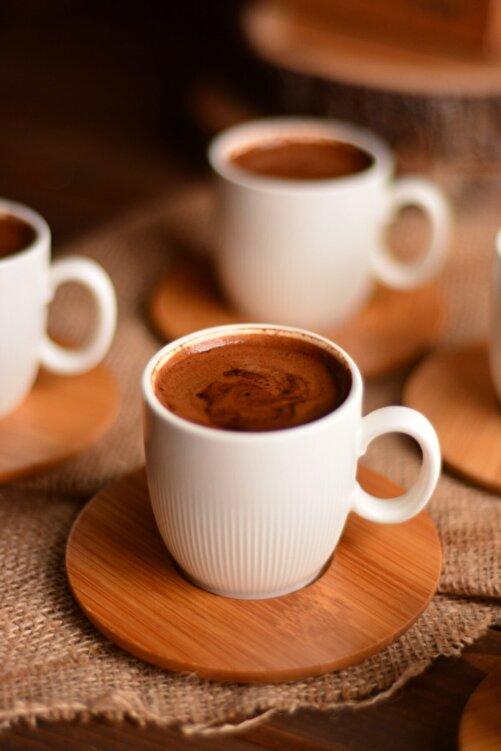 Bambum Kostas 6 Kişilik Kahve Takımı 2