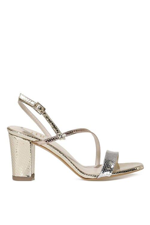 İnci CANNES.Z 1FX Altın Kadın Topuklu Sandalet 101038256 1