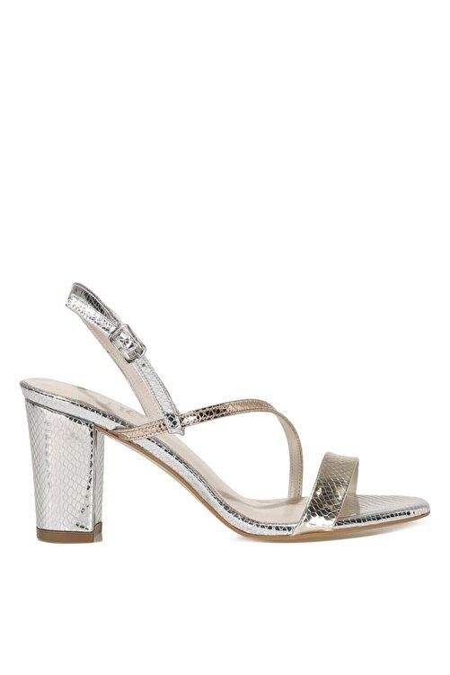 İnci CANNES.Z 1FX Gümüş Kadın Topuklu Sandalet 101038257 1
