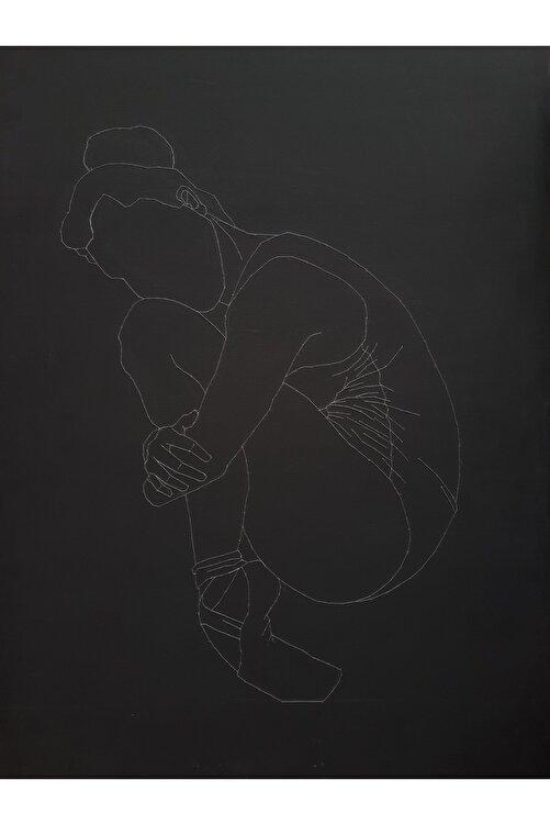 Rabia Ceviz Ruh-1, 70x50, Tuval Üzerine Dikiş 1