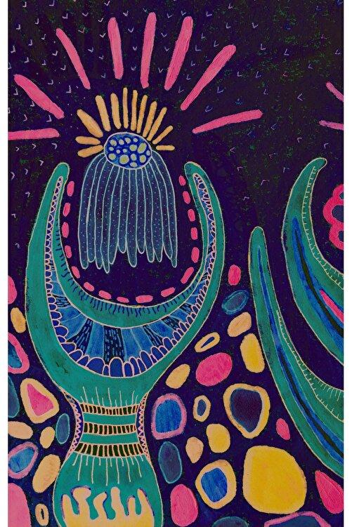 Nagihan Aydınlık Abstract No5, 30x47, Karışık Teknik 1