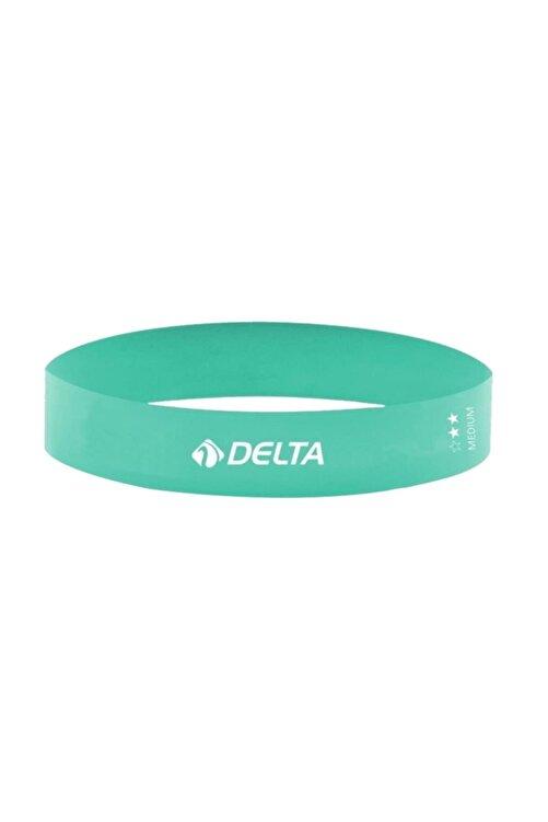 Delta Turkuaz Aerobik Bandı Lateks Bant Pilates Lastiği Lpm364 1