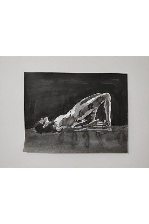 Gönül Esentürk Embodied Movements #3, 50x70,, Kağıt Üzerine Çini Mürekkebi 1
