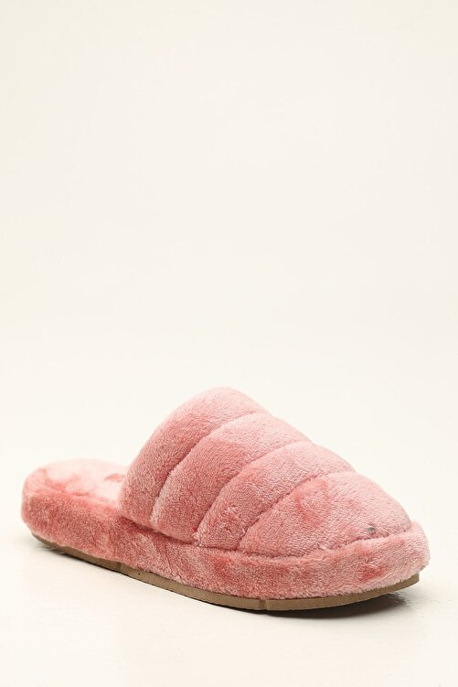 Violetta Shoes Kadın Pudra Ev Terliği 2
