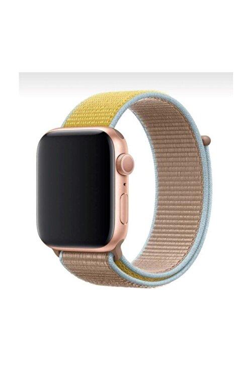Mahzen Apple Watch 1-2-3-4-5 Serisi ( 42mm - 44mm ) Uyumlu Spor Loop Kordon 1