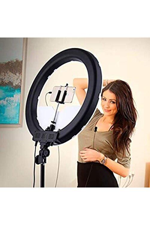 MIRFAK AUDIO Youtuber Vlogger Blogger Set (yaka Mikrofonu+led Ring Light + Tripod ) 1