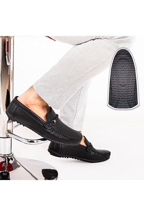 Milano Brava Ortopedik Loafer Erkek Ayakkabı Mln1102 Siyah 2