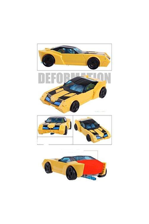 Gepettoys Kdd Transformers Tarzında Optimus Prime Bumblebee Grimlock Dönüşen Robot Araba 2
