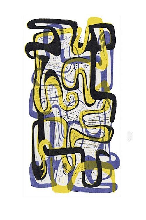 Aylin Taslak Labyrinth No 4, 18x35, Linol Baskı 1