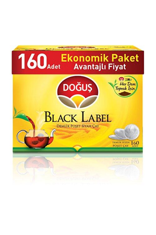 Doğuş Black Label Demlik Poşet Siyah Çay Avantajlı Paket 160 'lı 1