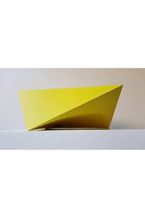 Rahmi Gedik Ritim Serisi Yellow, 14x31x35, Seramik Heykel 2