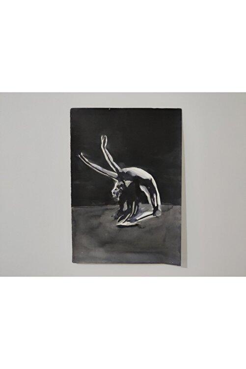 Gönül Esentürk Embodied Movements #15, 50x70,, Kağıt Üzerine Çini Mürekkebi 1