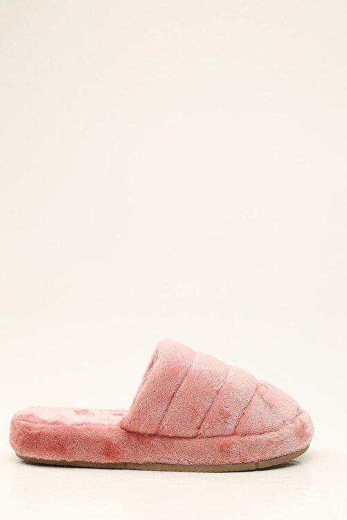 Violetta Shoes Kadın Pudra Ev Terliği 1