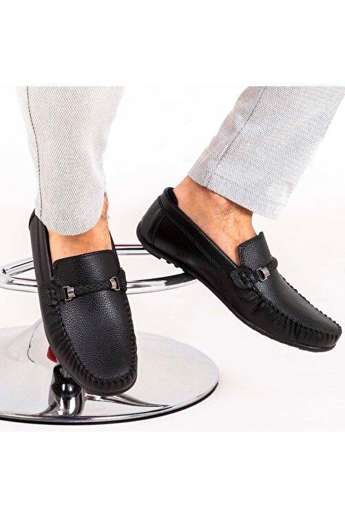 Milano Brava Ortopedik Loafer Erkek Ayakkabı Mln1102 Siyah 1