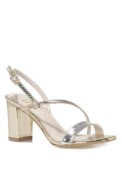 İnci CANNES.Z 1FX Altın Kadın Topuklu Sandalet 101038256 2