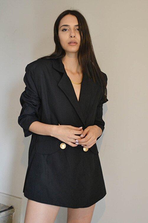 Eclectic Siyah Ceket Elbise 2