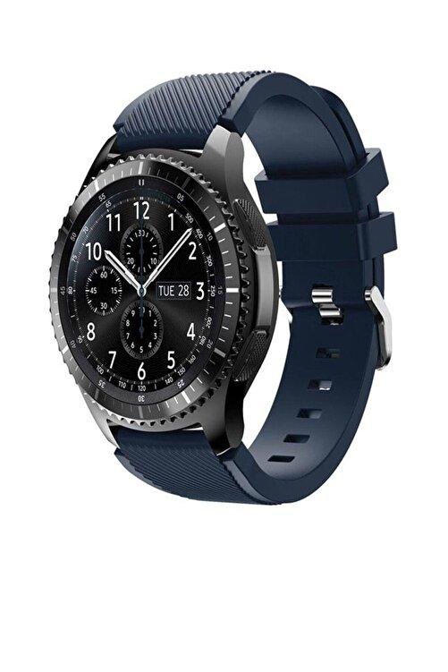 TahTicMer Huawei Watch Gt2 46mm Sport Kordon Silikon Lacivert 1