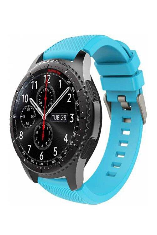 TahTicMer Huawei Watch Gt2 46mm Sport Kordon Silikon Turkuaz 1