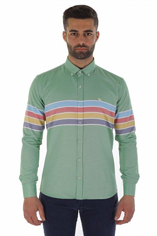 Diandor Uzun Kollu Slim Fit Erkek Gömlek V1 1912031 1