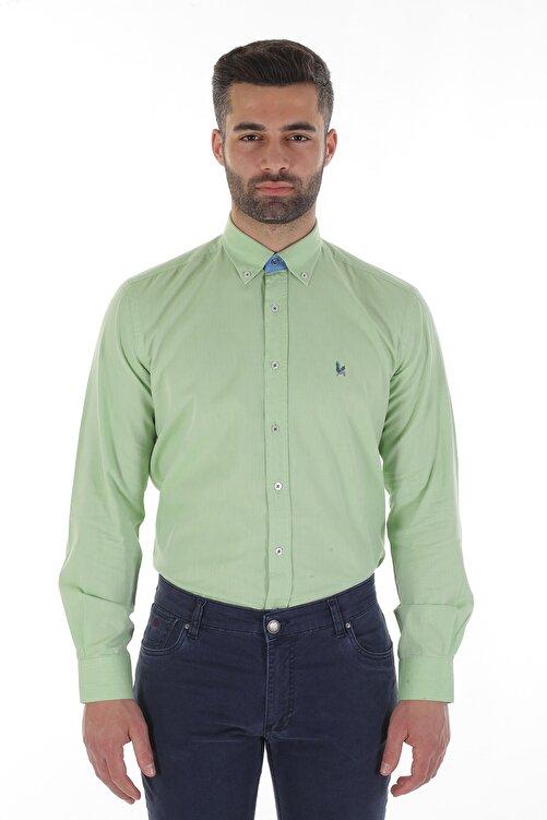 Diandor Uzun Kollu Erkek Gömlek Yeşil/Green 1912007 1