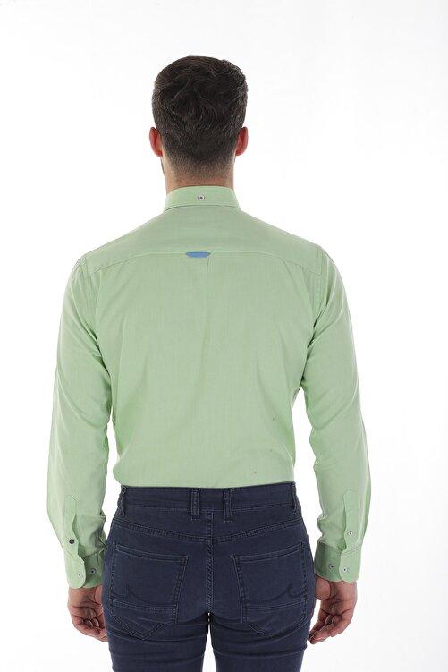 Diandor Uzun Kollu Erkek Gömlek Yeşil/Green 1912007 2