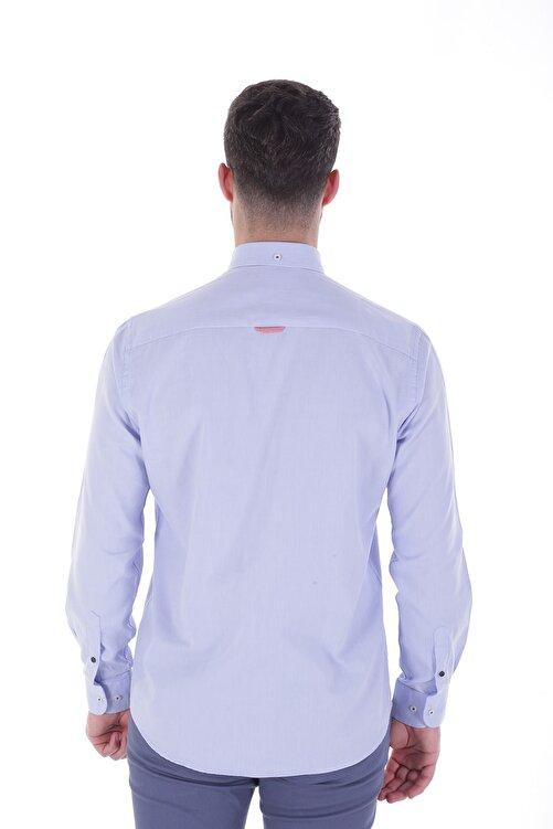Diandor Uzun Kollu Erkek Gömlek Mavi/Blue 1912007 2