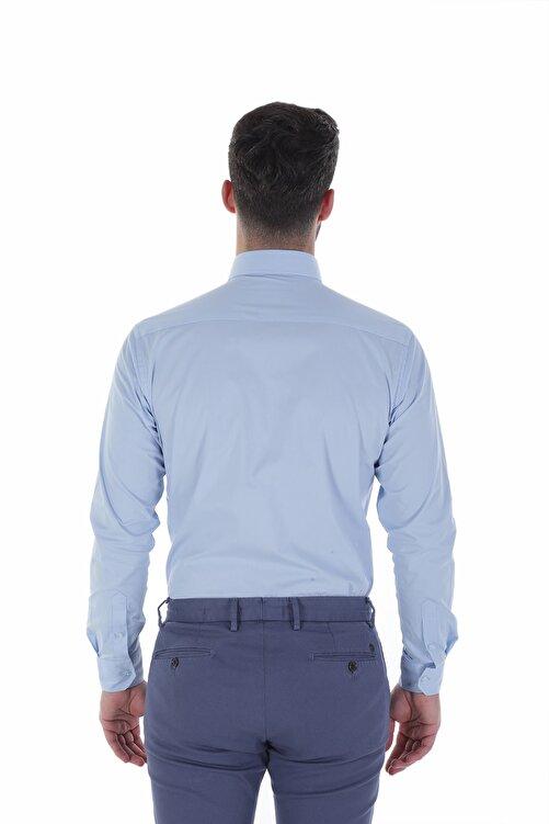 Diandor Uzun Kollu İtalyan Yaka Erkek Gömlek V1 1912024 2