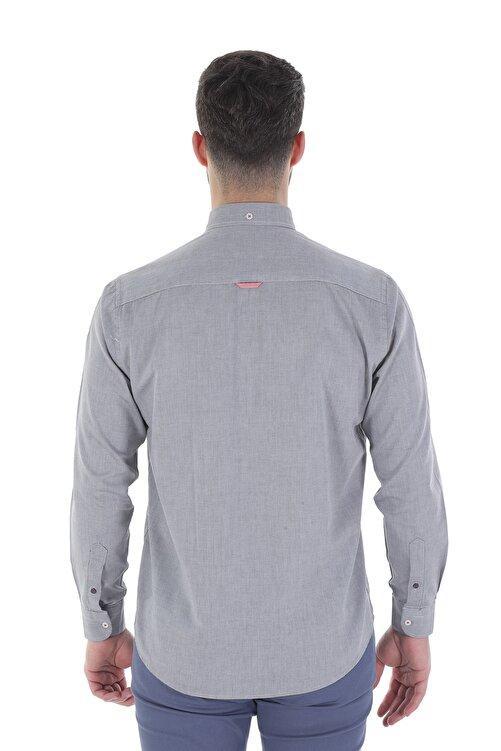 Diandor Uzun Kollu Erkek Gömlek Siyah/Black 1912007 2