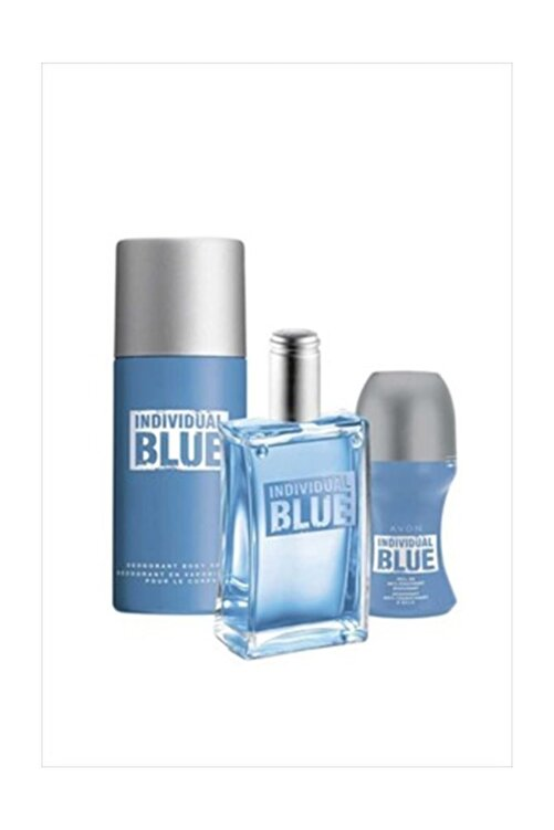 AVON Individual Blue Edt Erkek Parfüm Seti 8681298980902 200 ml 1