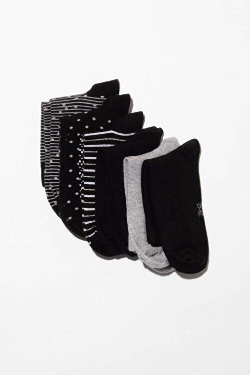 Katia&Bony 6'lı Desenli Bayan Soket Çorap - Mıx 2