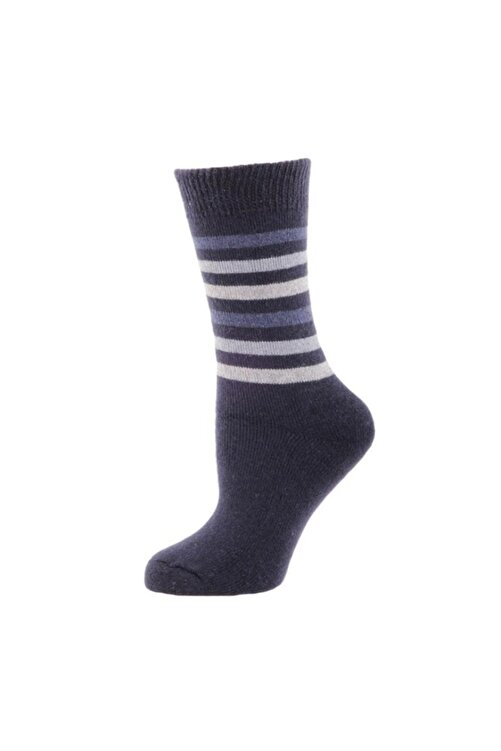 Panthzer Casual Wool Socks Erkek Çorap Lacivert 1